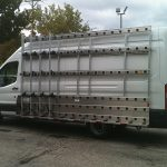 """612H-A on Ford Transit 148"""" Extended Wheelbase"""