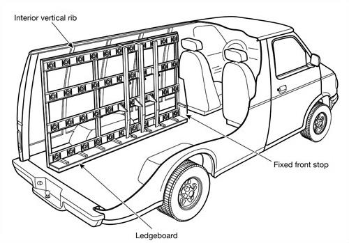 Barkow Interior glass carrier 500 a.