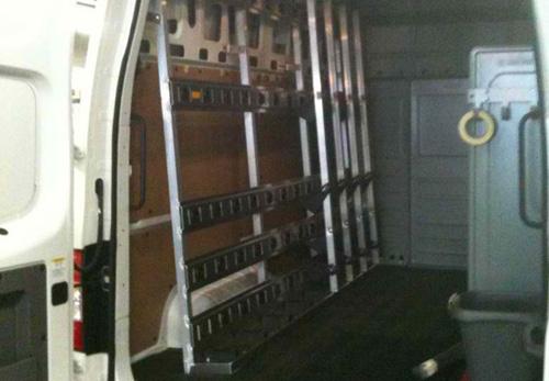 Barkow 500A inside a Nissan NV.