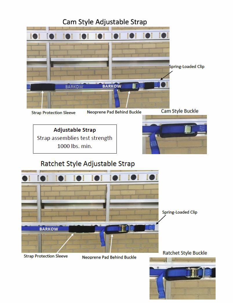 Barkow Loadholding strap assembly image 1.