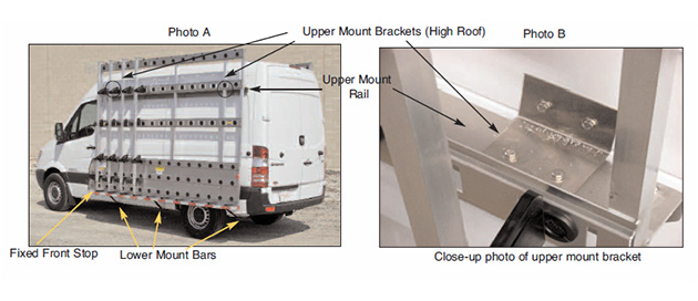 600 series mounting instructions for Sprinter image 1.
