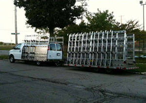 Barkow 16' Aluminum Trailer.